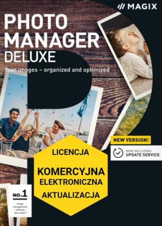 MAGIX Photo Manager Deluxe (licencja elektroniczna, komercyjna, aktualizacja)