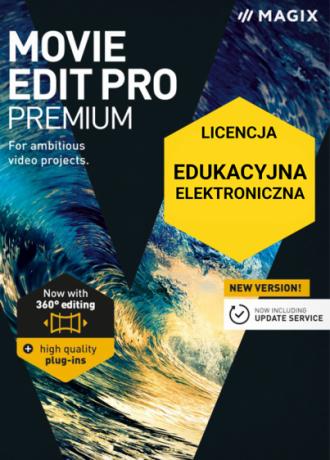 MAGIX Movie Edit Pro Premium (licencja elektroniczna, edukacyjna)