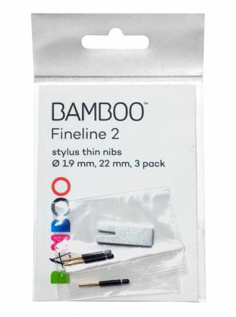 Karbonowe końcówki Bamboo Stylus Fineline2, ACK-21801 (3szt.)