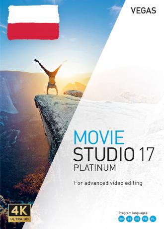 Vegas Movie Studio 17 Platinum PL