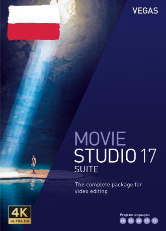 Vegas Movie Studio 17 Suite PL