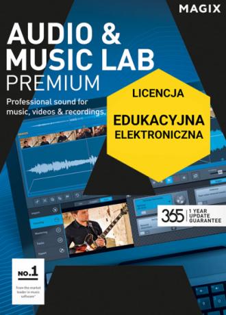 MAGIX Audio & Music Lab Premium (licencja elektroniczna, edukacyjna)