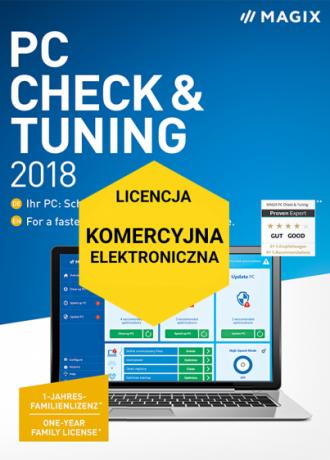 MAGIX PC Check & Tuning 2019 (licencja elektroniczna, komercyjna)