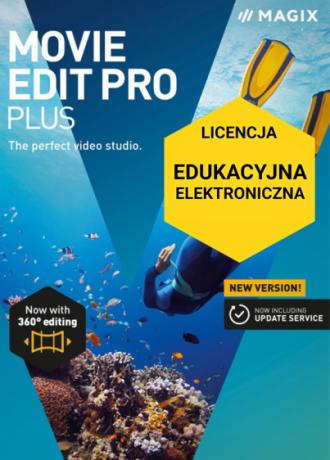 MAGIX Movie Edit Pro Plus (licencja elektroniczna, edukacyjna)