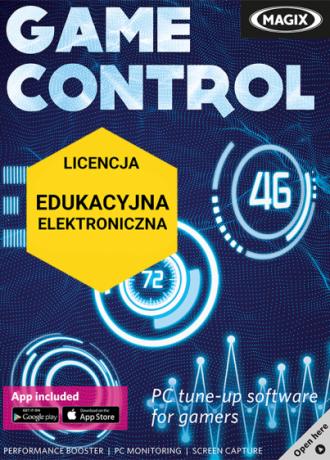 MAGIX Game Control (licencja elektroniczna, edukacyjna)