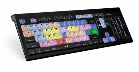Klawiatura MAC podświetlana dla AVID Media Composer (typ: US, ASTRA) LKBU-MCOM4-AMBH-US