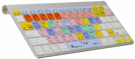 Nakładka LogicSkin MAC Ableton Live (typ: US, MacBook) LS-ABLT-MBUC-US