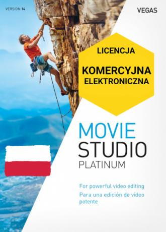 Vegas Movie Studio 14 Platinum PL (licencja elektroniczna, komercyjna)