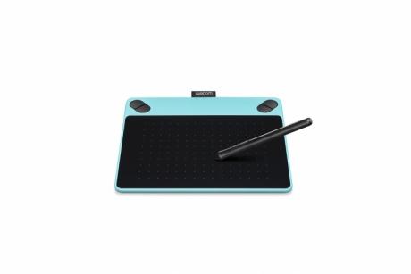 Tablet graficzny Wacom Intuos Art S (A6) CTH-490AB niebieski + oprogr. + kurs obsługi PL