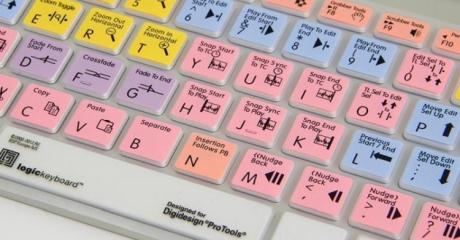 Nakładka LogicSkin MAC AVID Pro Tools (typ: US, Apple Keyboard) LS-PT-M89-US