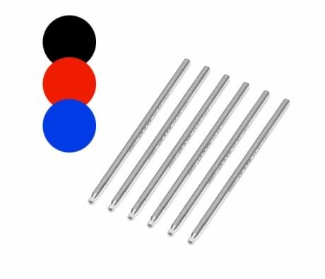 6 wkładów piszących (ACK-20308) do piór Wacom (różne kolory do wyboru)