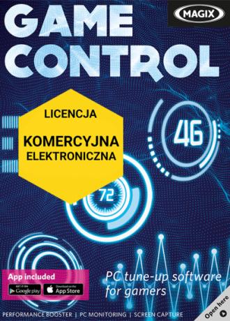 MAGIX Game Control (licencja elektroniczna, komercyjna)