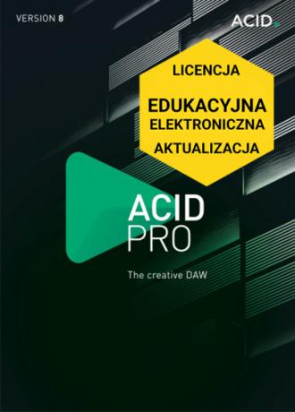 ACID Pro 8 (licencja elektroniczna, edukacyjna, aktualizacja)