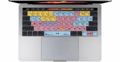 Nakładka LogicSkin MAC AVID Pro Tools (typ: US, MacBook Pro 2016) LS-PT-MBP16-US