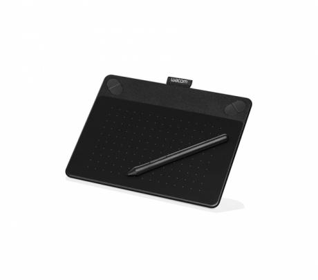 Tablet graficzny Wacom Intuos Photo S (A6) CTH-490PK czarny + oprogr. + kurs obsługi PL