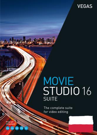 Vegas Movie Studio 16 Suite PL