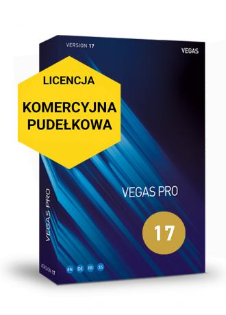 Vegas Pro 17 (pudełko, komercyjna)