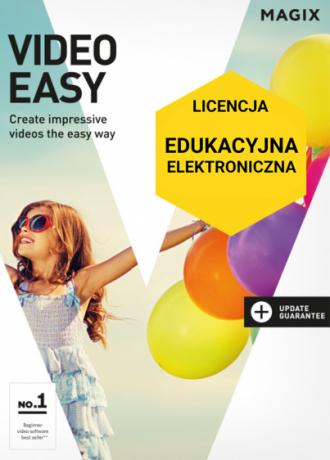 MAGIX Video Easy (licencja elektroniczna, edukacyjna)