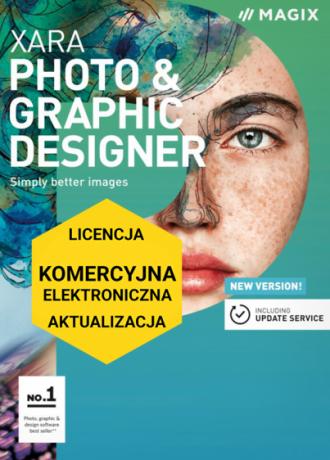 MAGIX Xara Photo & Graphic Designer (licencja elektroniczna, komercyjna, aktualizacja)