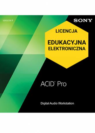 ACID Pro 7 (licencja elektroniczna, edukacyjna)