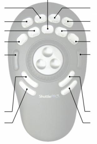 Manipulator wideo Shuttle Pro 2 - Black SHUTTLE-PROV2