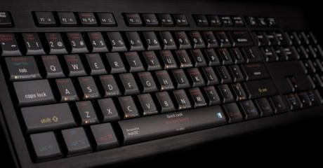 Klawiatura MAC podświetlana Logickeyboard Shortcuts (typ: US, Astra) LKBU-OSX-AMBH-US