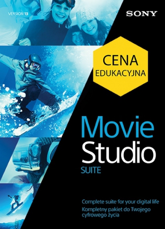 Vegas Movie Studio 13 Suite PL (licencja elektroniczna, edukacyjna)
