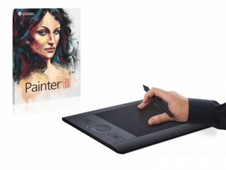 Tablet Wacom Intuos Pro S + Corel Painter 2018