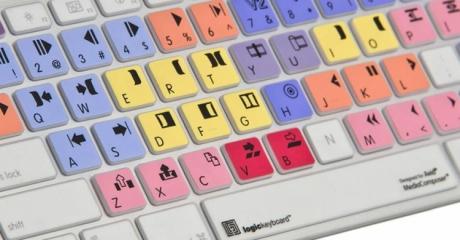 Nakładka LogicSkin MAC AVID Media Composer (typ: US, Apple Keyboard) LS-MCOM4-M89-US