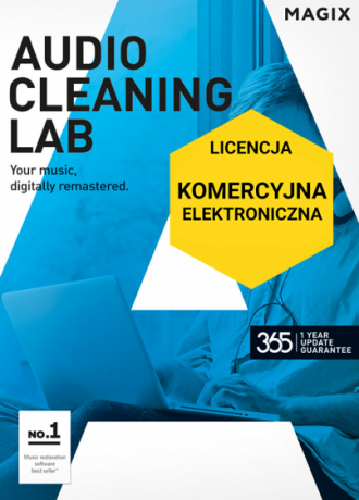 MAGIX Audio Cleaning Lab (licencja elektroniczna, komercyjna)