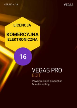 Vegas Pro 16 EDIT (elektroniczna, komercyjna)